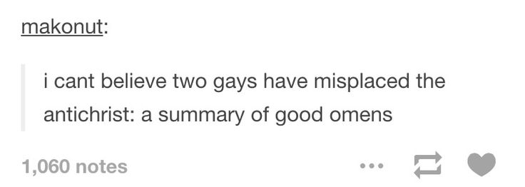 Good Omens summary| It's actually quite accurate