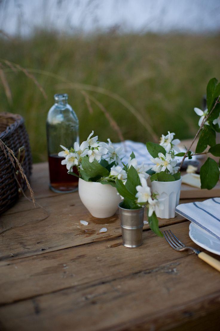 Organic Table Settings