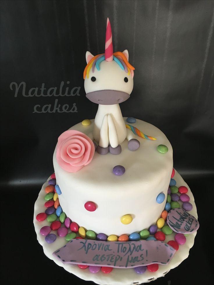 UNICORN birthday cake!