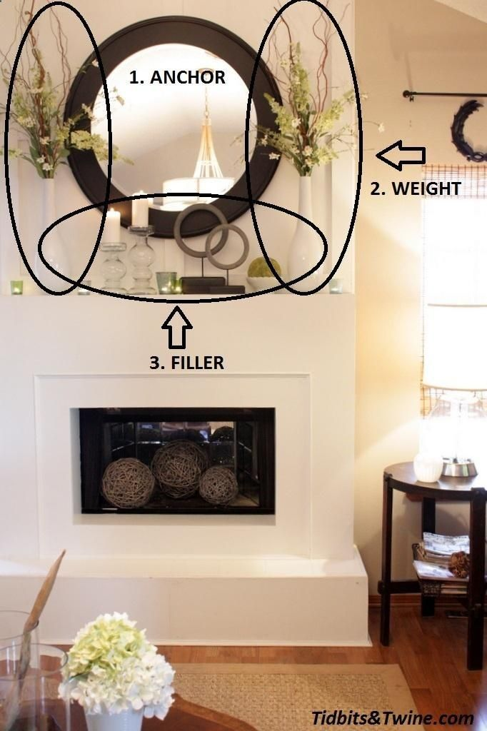 Mantel Decorations : IDEAS INSPIRATIONS :How to Decorate a Mantel | homedecoriez.comhomedecoriez.com
