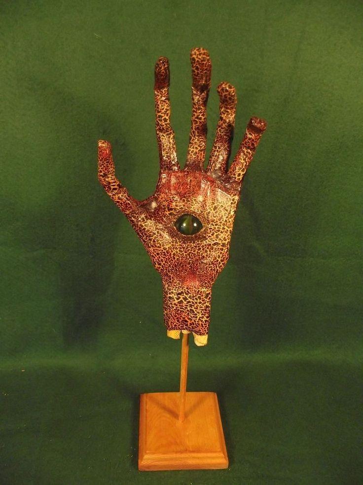 Mythical Hand & Eye of Argus Panoptes, Mythology, Faux Taxidermy, Unusual Curio