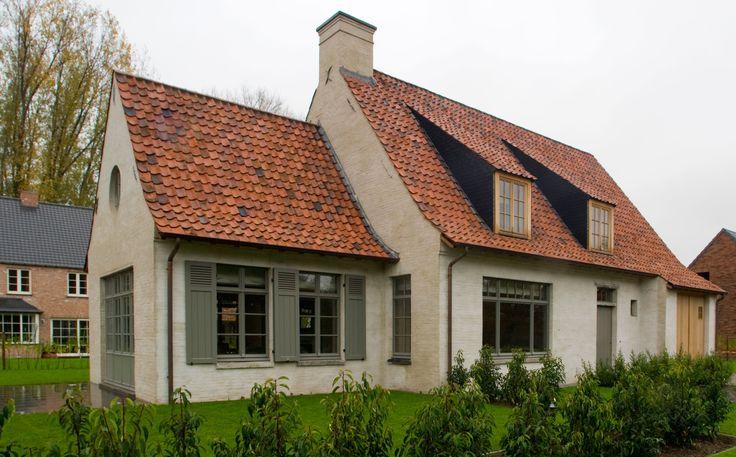 Uitstekende architecturale verhoudingen voor deze kleinere landelijke woning