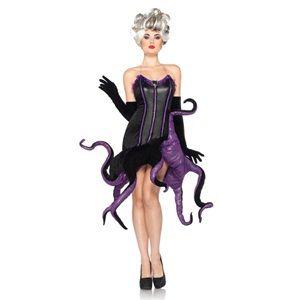 Ursula Little Mermaid Disney Villain Womens Costume | Available in small, medium, large, and Plus size! #officialprincesscostumes