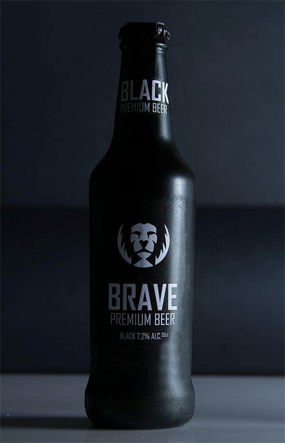 Brave: Premium Beer. by Simone Macciocchi, via Behance Beer mxm
