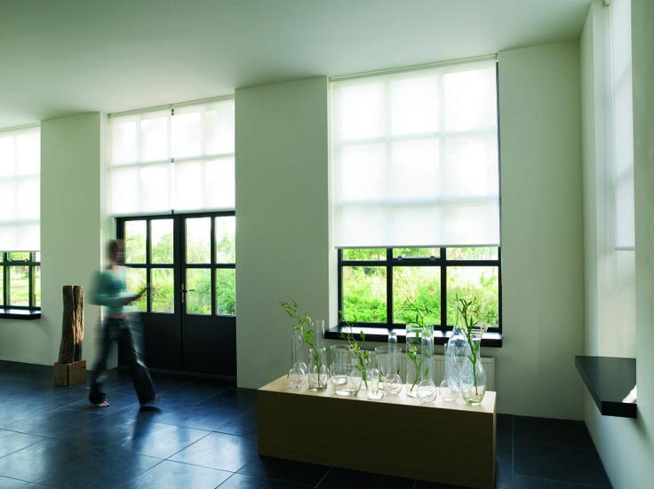 #white #blind #home #interior