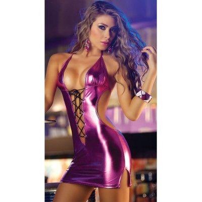 Dámské šaty růžové B-Fashion ruzova - http://www.luxoria.cz/damske-saty-ruzove-b-fashion/