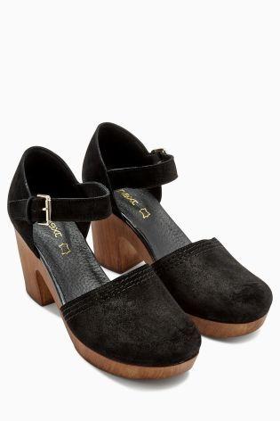 Koop Tweedelige suède schoenen met plateauzolen vandaag online bij Next: Nederland