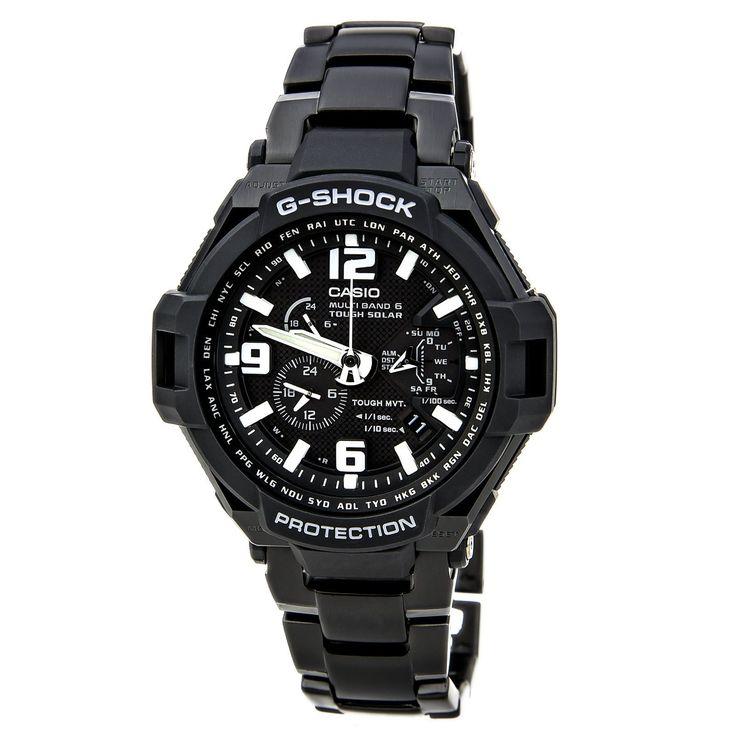 Casio GW4000D-1A Men's G-Shock Tough Solar Power Atomic World Timer Watch