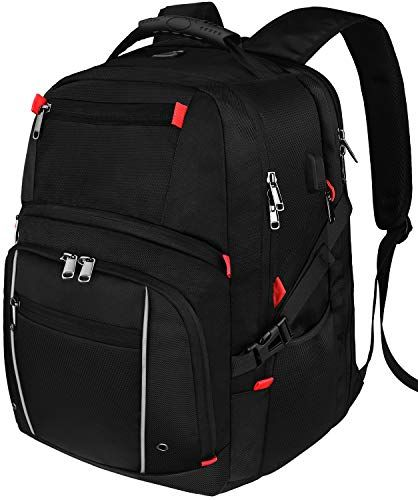 bccb04a333a New NUBILY Laptop Backpack 17.3 Inch Waterproof Large Capacity Business  Travel Bags College School Students Gaming