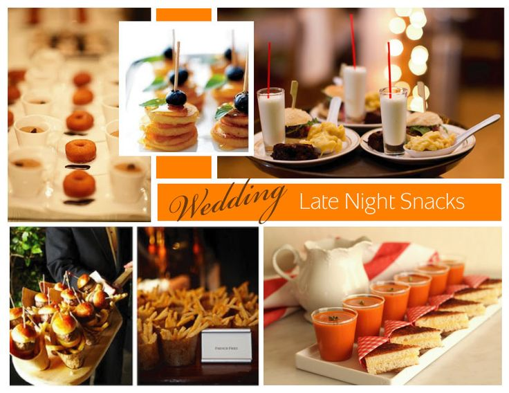 28 best images about Wedding | Late Night Snacks on ...