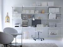 Office ALGOT shelving/desk unit  - IKEA