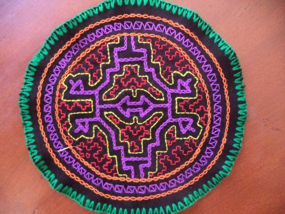 Shipibo Flower Patch/Ayahuasca/Hippie and Shamanic by Igualmente, £10.23