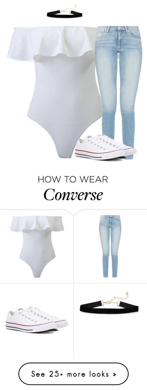 """""""Untitled #3100"""" by laurenatria11 on Polyvore featuring Converse"""