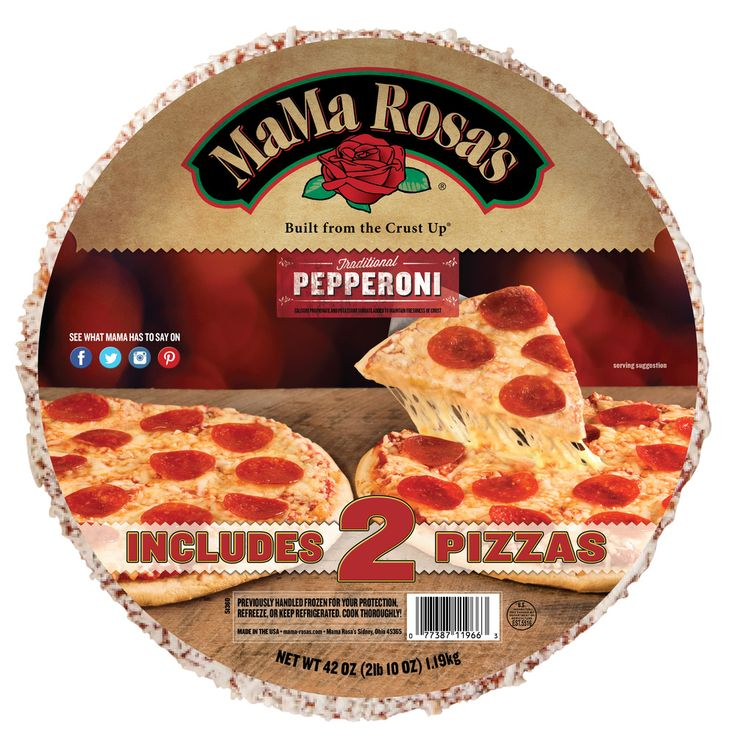 Large Pepperoni 2-Pack Pizza from MaMa Rosa's
