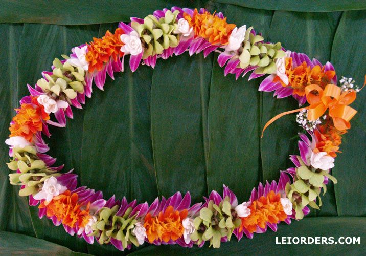 hawaiian leis shipped fresh guaranteed. Hawaiian leis for graduation and weddings.