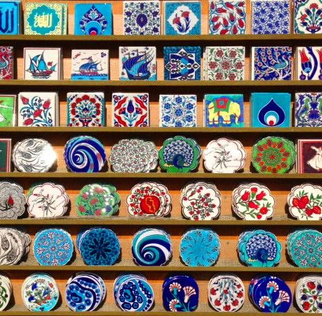 Colorful Turkish Tiles.
