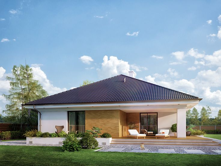 Decyma 7 (148,26 m2) to projekt domu parterowego z użytkowym poddaszem. Pełna prezentacja projektu na stronie: https://www.domywstylu.pl/projekt-domu-decyma_7.php.  #decyma #projekty #projekt #gotowe #typowe #domy #domywstylu #mtmstyl #home #houses #architektura #interiors #insides #wnętrza #aranżacje