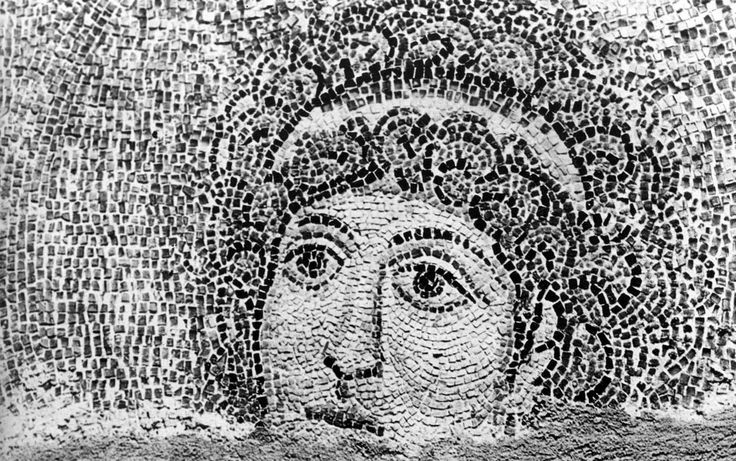 Rotonda di San Giorgio, Salonicco, Grecia, I mosaici della fine del IV -inizio del V secolo. Angelo