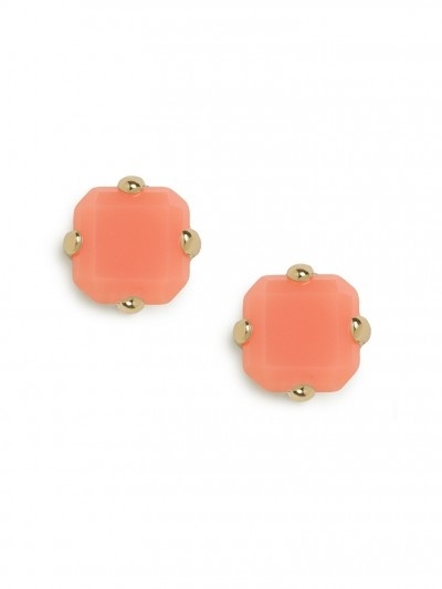 candy cushion cut studs / baublebar... love the color!