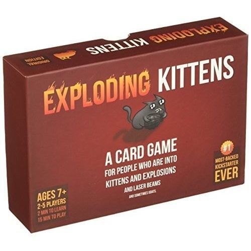 #exploding #kittens #card #game #kickstarter #explosions #laser #beams #goats# family #fun #activity #online #deals #daily