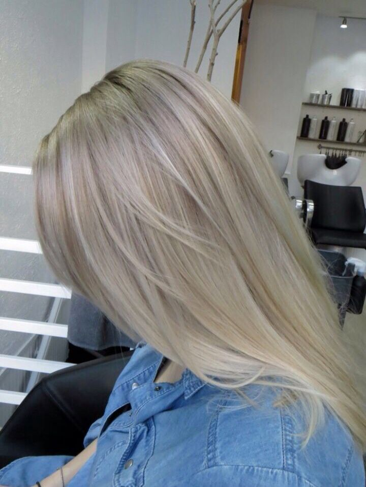 Perfect hair color for me. Cool, cold toned blonde hair.