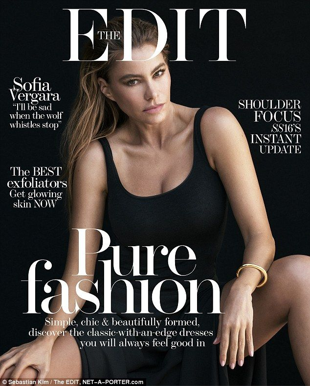 The 43-year-old actress told Net-A-Porter's weekly digital magazine The Edit:'My husband ...
