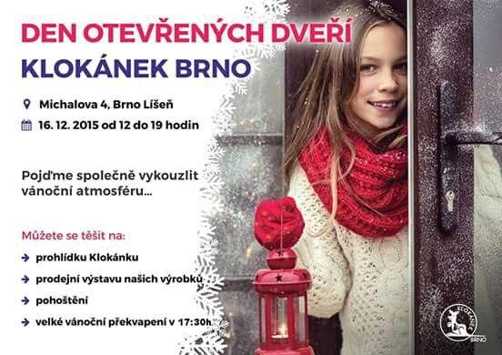 Koho uvidím v Klokánku Brno? :-)  Jste vsichni srdecně zváni! #klokanek#deti#brno#charita#vanoce#darky