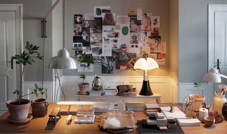 Desk + work