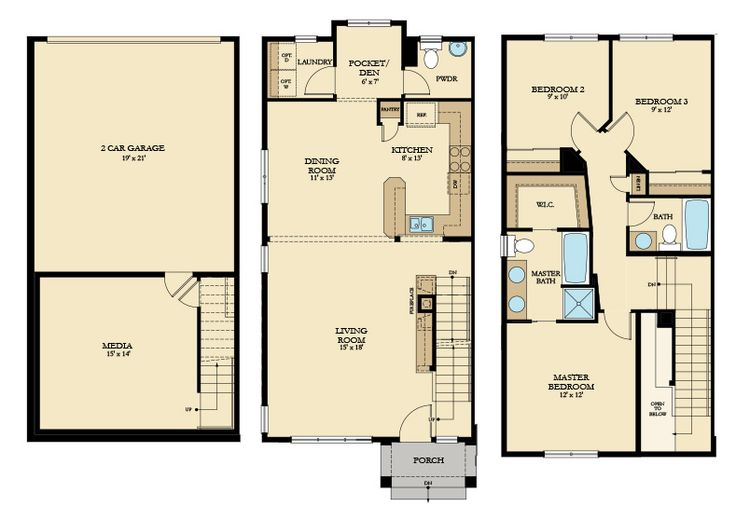 54 best lennar seattle floorplans images on pinterest for Seattle house plans