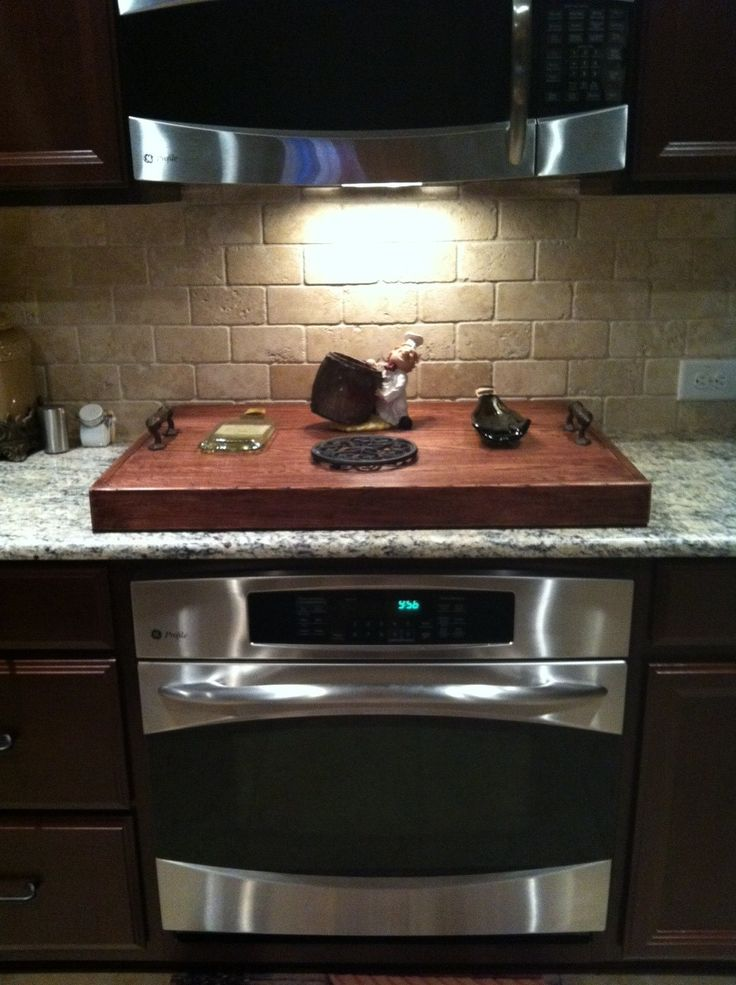 Kitchen Island With Stove And Oven My Stove Top Cover | Things I Made | Diy Home Decor, Stove