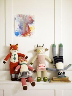 Knitted Friends from Rowen & Wren