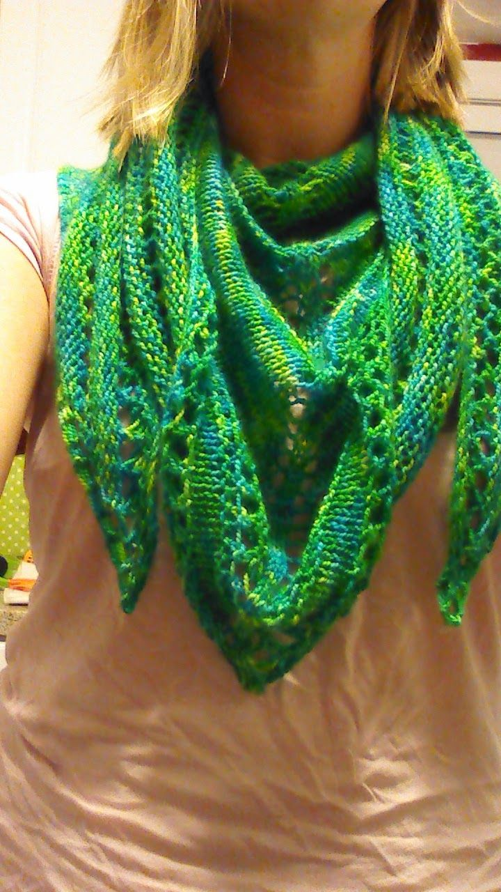The 357 best Shawls Free Knitting images on Pinterest | Knit ...