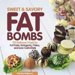 Get an energy boost that is high in fat, but low in protein and carbohydrates with Sweet and Savory Fat Bombs! Learn to make 100 savory and sweet snacks perfect for fat fasts and boosting your fat int