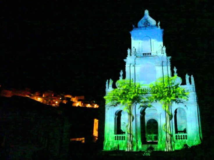 Projection mapping 3d San paolo 2014 Palazzolo Acreide