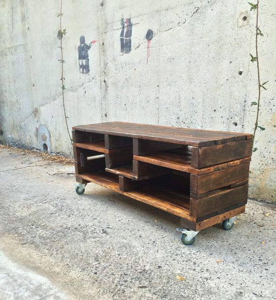 Rustic Furniture. Living Room. TV Unit. Artisan by BryceandCo