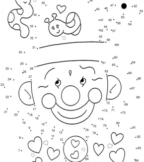 Printables Dot To Dot Worksheets 1-100 1000 images about dot to on pinterest in south africa math 18 challenging activity sheets
