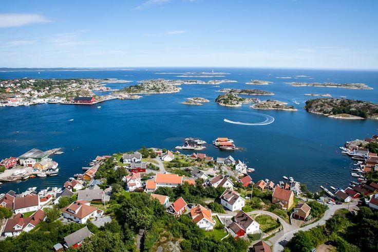 Flyfoto Flekkerøya