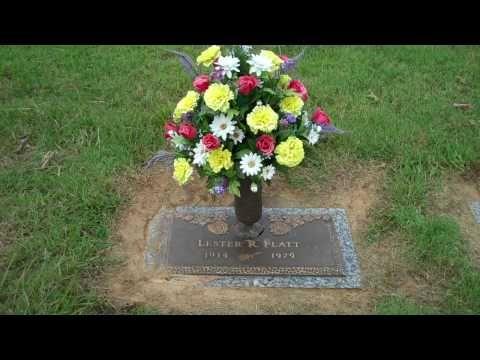 ▶ Lester Flatt's Gravesite - YouTube