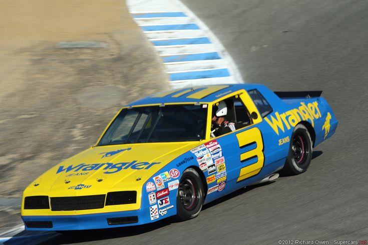 Dale Earnhardt's 1987 Chevrolet Monte Carlo NASCAR Winston Cup Car.
