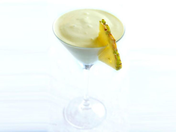 Caribbean cocktail - smoothie. Banan lime ananas kokosmelk
