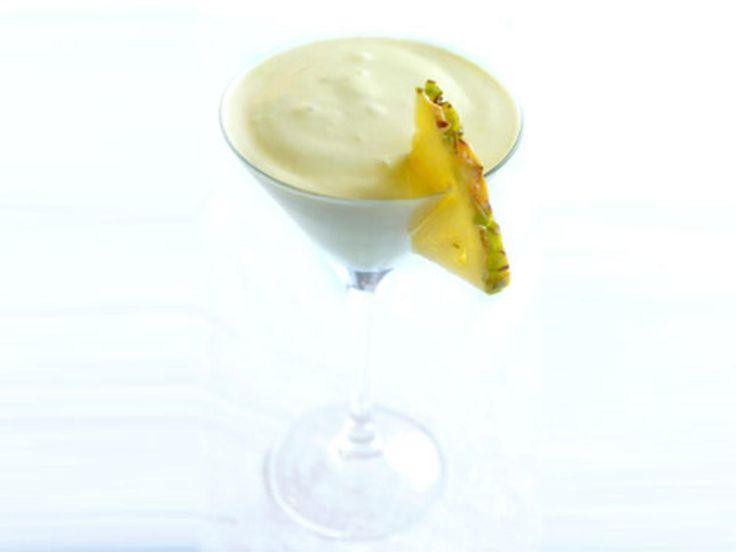 Caribbean cocktail - smoothie. Banan lime ananas kokosmelk