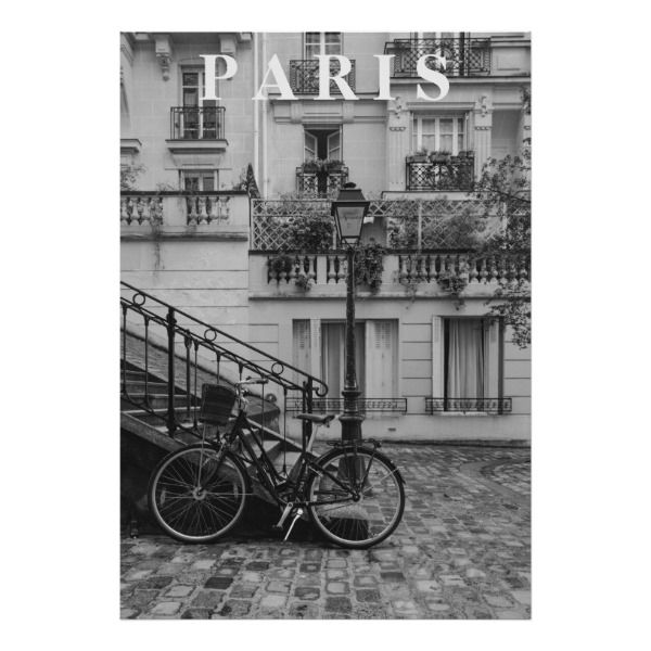 Vintage Paris Street Poster Zazzle Com In 2021 Black And White Picture Wall Black And White Photo Wall Vintage Paris