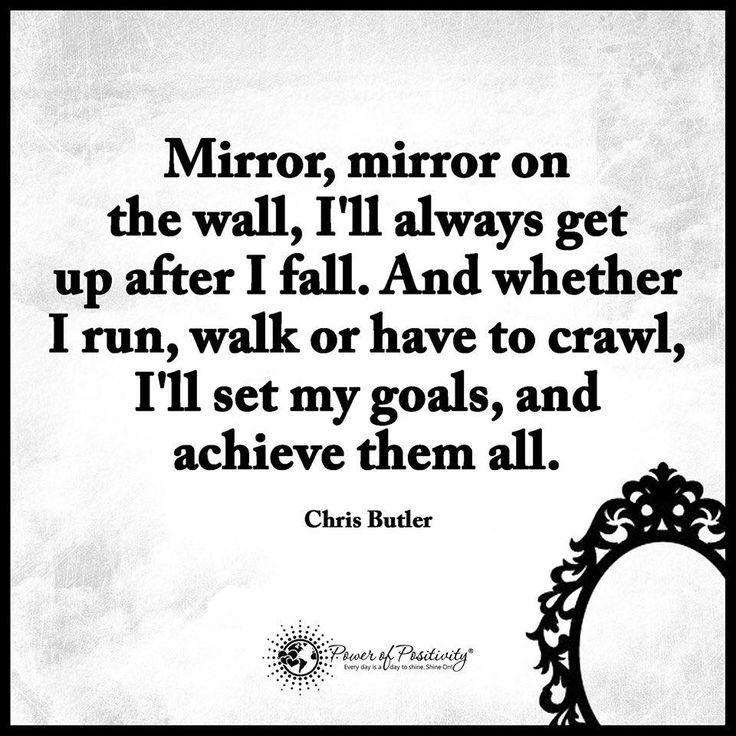 Power Of Positive Thinking Quotes Custom The 25 Best Mirror Quotes Ideas On Pinterest  Stillness Quotes