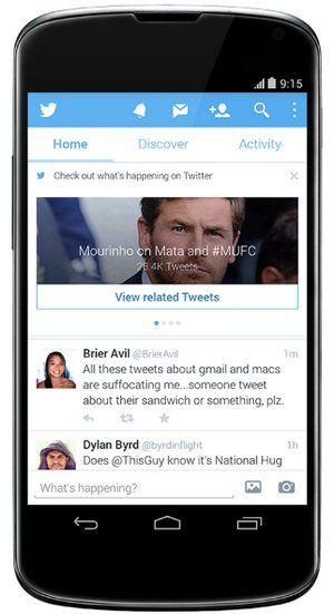 Twitter para Android ahora facilita el recorte y rotación de imágenes