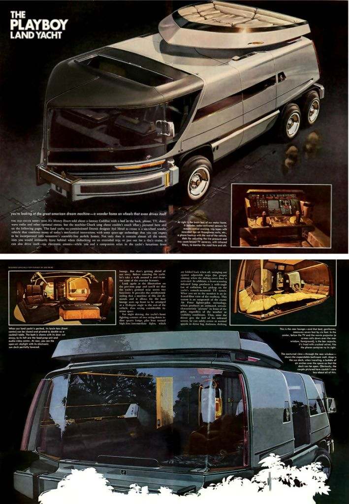 Land Yacht --- ignore the source and just look at the results.