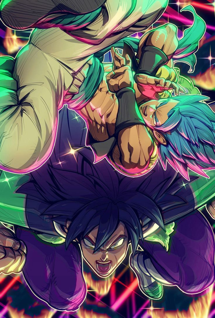 Broly And Gogeta Broly Gogeta Dragon Ball Artwork Dragon