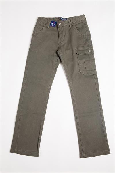 Темно оливковые джинсы