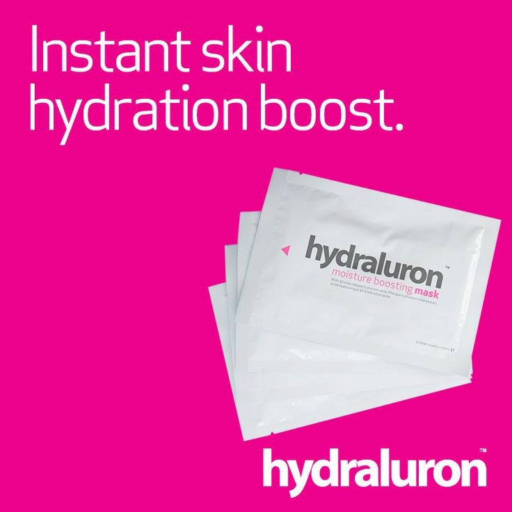 Instant skin hydration boost