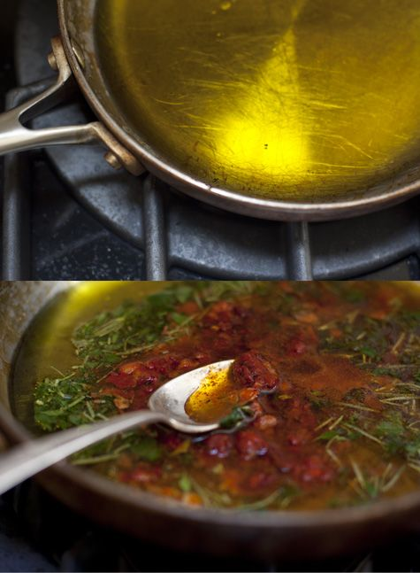 Magic Sauce Recipe - I call this the magic sauce recipe. In part, because it makes everything it touches shimmy with deliciousness. It's magic like that. Technically, it's a riff on a chimichurri sauce - one that has veered off the rails in a big way.  - from 101Cookbooks.com