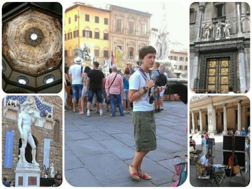 Combine sightseeing with a little language instruction during a #Florence walking tour with an Italian lesson.